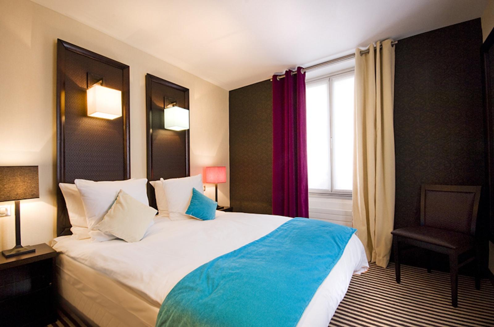 CHAMBRE SINGLE CLASSIQUE 11 m² en moyenne | Hôtel Pax Opéra, Paris